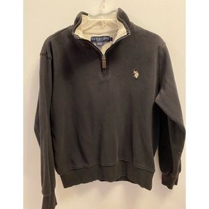US Polo Assn. Black Sweater